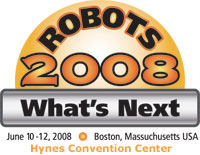 Robots 2008 presented by Robotic Industries Association