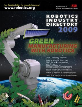 RIA Robotics Industry Directory 2009