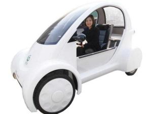 robotic electric minicar