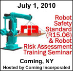 Robot Safety Training in Corning, New York