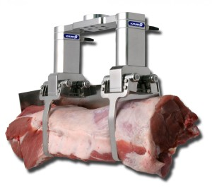 SCHUNK robot gripper for meat processing