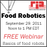 Food Robotics webinar from Robotic Industries Association covers basics